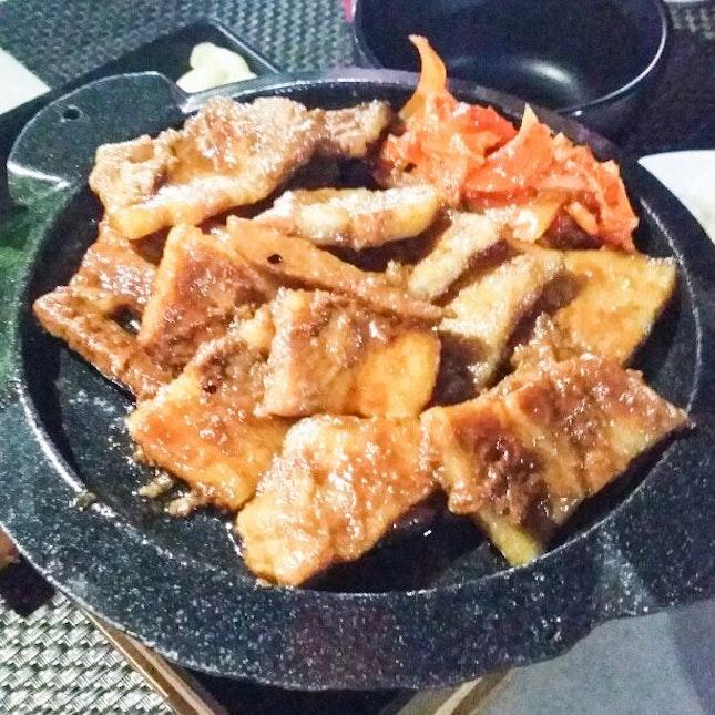 Marinated Pork Belly 양념삼겹살