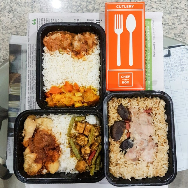 Meals in a Box via Vending Machines