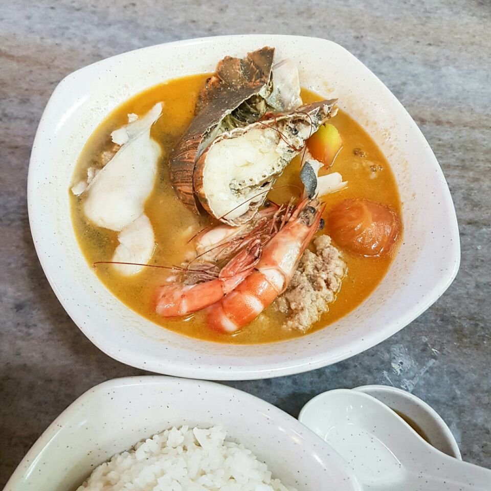 Crayfish Seafood Soup