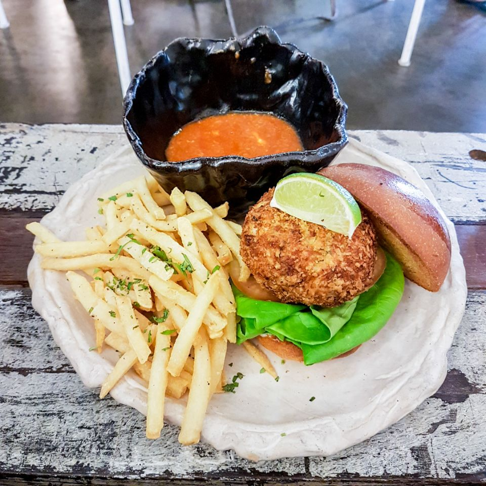 Artistry Chilli Crab Burger
