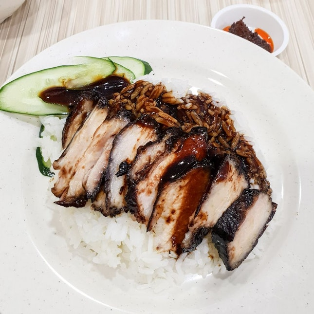 Kay Lee Dark Char Siew Rice