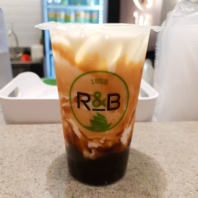 Brown Sugar Boba Milk 青蛙撞奶
