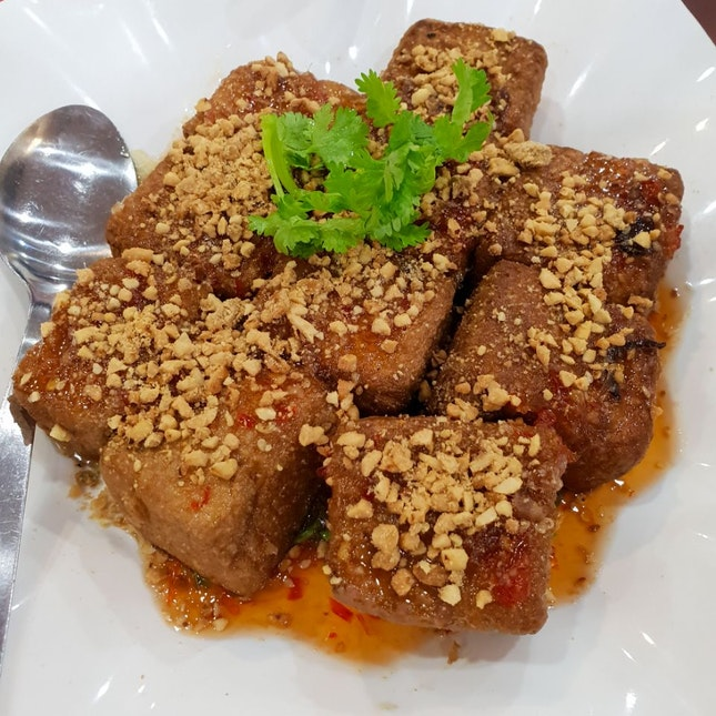 Sweet Thai Beancurd with Peanuts