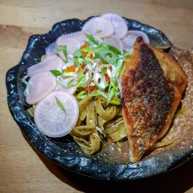 Seabass Pasta