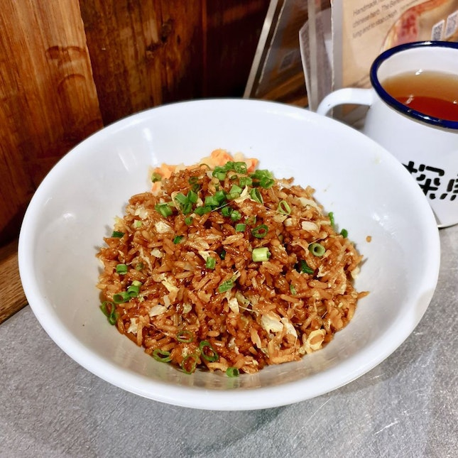 Soy Sauce Rice with Cheese 芝士酱油饭
