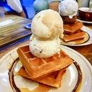 Double Scoop Waffle