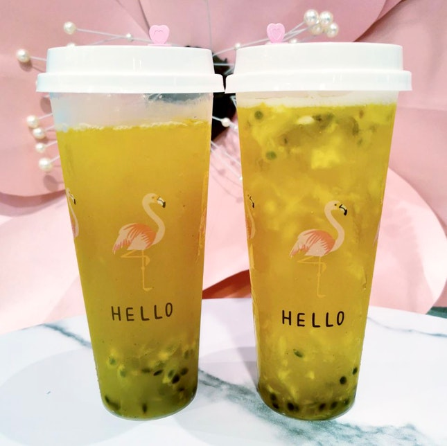 KumquatTea / Pineapple Passion Fruit Tea