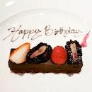 Complimentary Birthday Slice