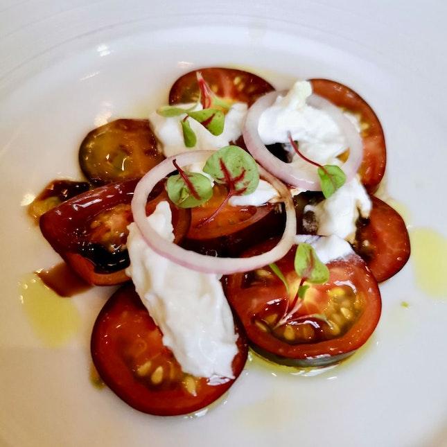 Carpaccio of Purple Tomato