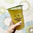 Refreshing Orange Green Tea