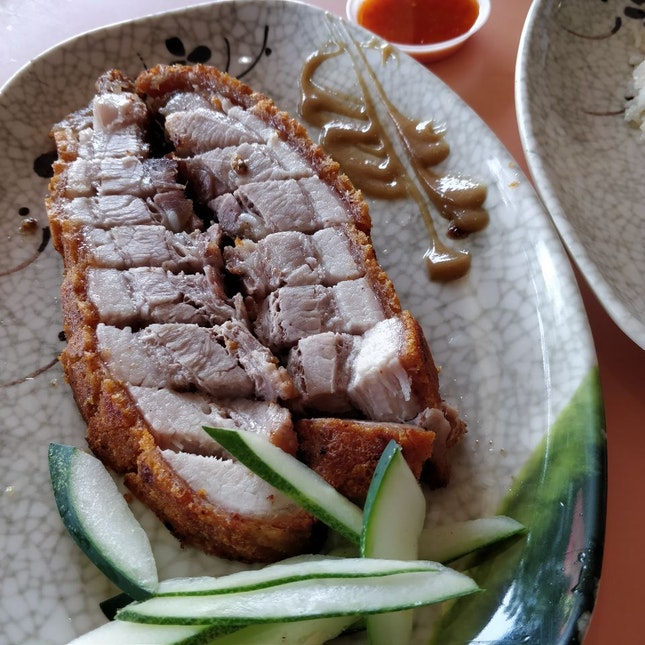 Crispy Roasted Pork Belly 😋