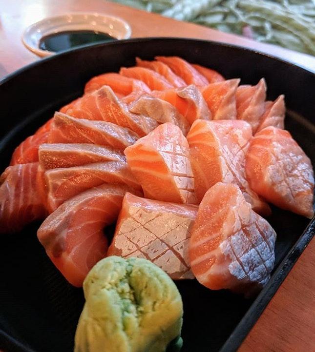 Sashimi galore!