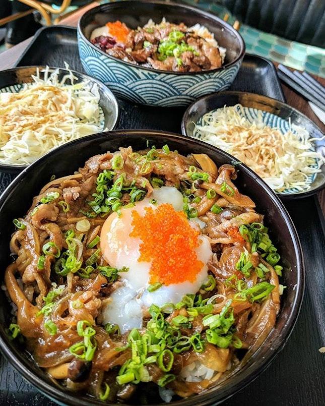 Throwback to this Wagyu Sukiyaki Don ($16.90) 🍚.