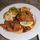 Fried chicken ($32) 🍗 6/10