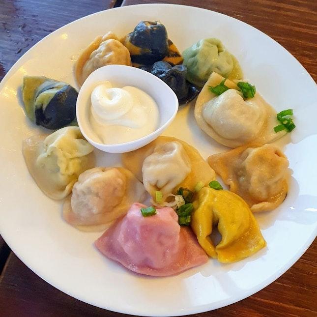 Dumplings 12 combo platter ($19.90) 🥟 6/10