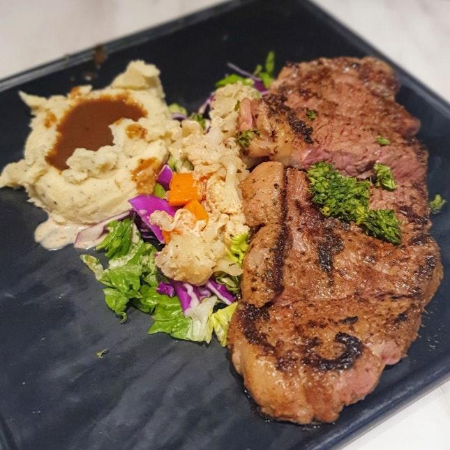 Striploin Steak ($21)