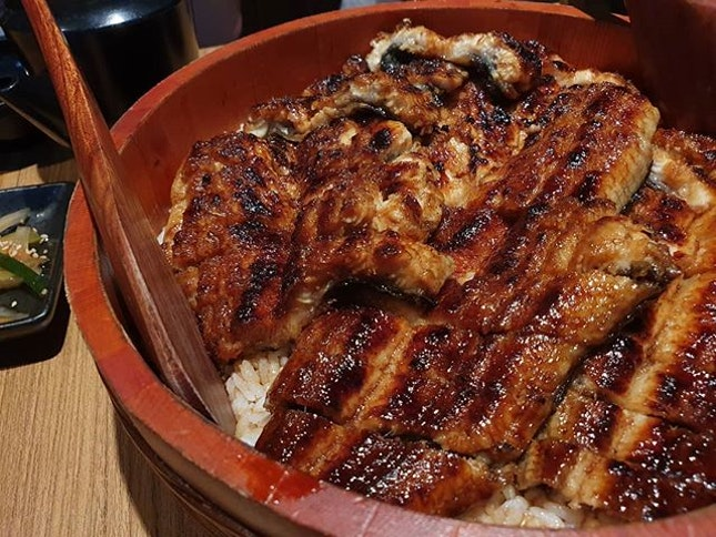 (Photo) Hitsumabushi XL ($85)  Unagiya Ichinoji is the place to be if you don't like long queues and waiting times from the familiar Man Man Unagi Restaurant.