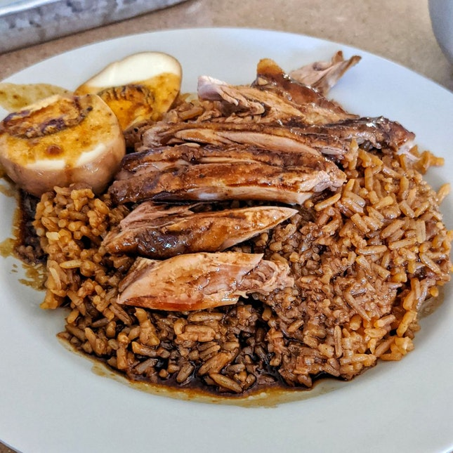 My Go To Duck Rice