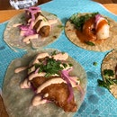 Fish And Prawn Tacos