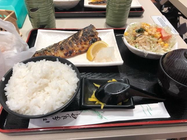 Saba Shioyaki Set ($9)