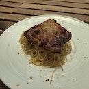Chicken with Aglio Olio ($12.90)