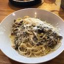 Truffle Mushroom Pasta ($13.90)