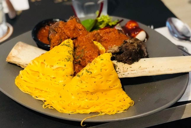 Roti Kirai Beef Ribs ($39)
