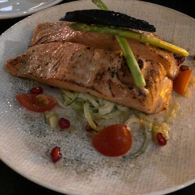Miso-glazed Norwegian Trout
