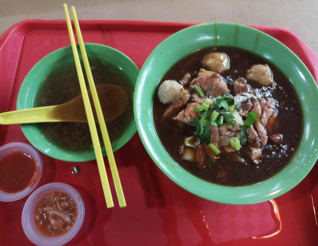 Beef Kway Teow Dry ($4) 28/08/19