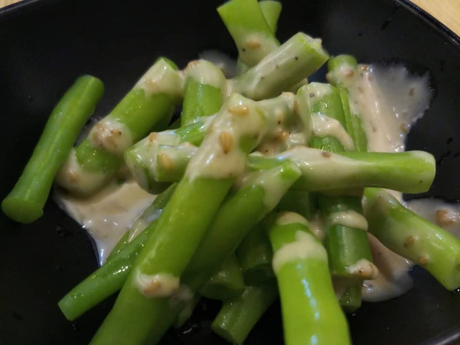 French beans in special sauce ($3.20) 07/09/19