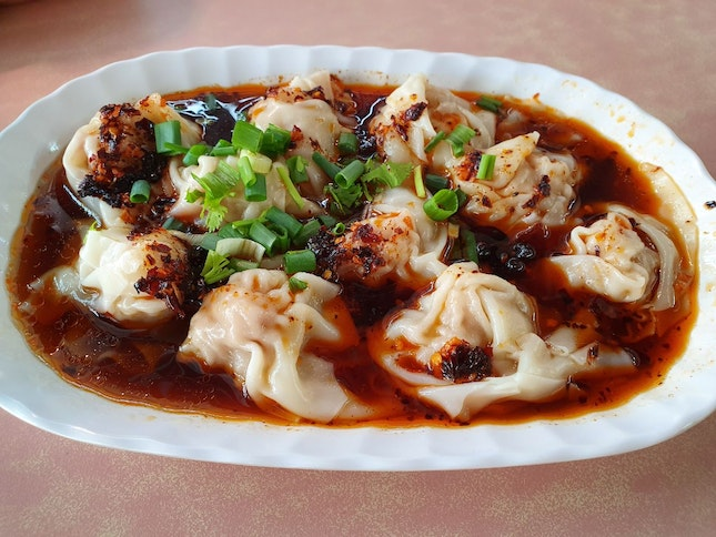 Spicy Wantons ($5 for 10)