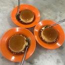 Caramel egg custard from Thean Chun!