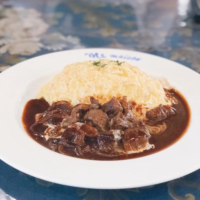 Beef Stroganoff Butter Rice