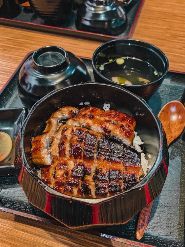 Unagi Hitsumabushi (R) $14.80++