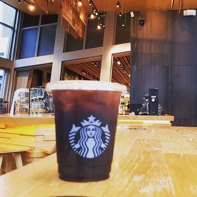 24 hours coffee  We found this amazing Starbucks.