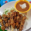 Satay  This stall which is located at the side facing the HDB flats have very nice pork satay.