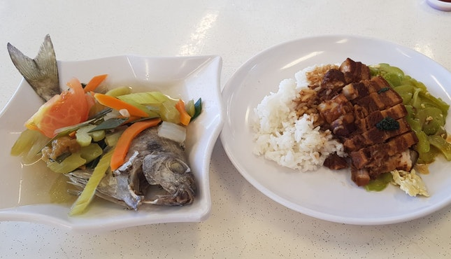 Teochew meal Happy 2019