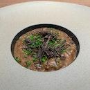 Mushroom Porridge | Parigord Truffle | Dried Shiitake