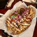Kimchi Carnitas Fries
