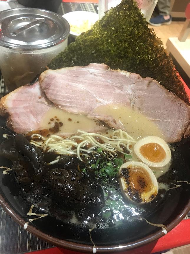 Black Pork Ramen