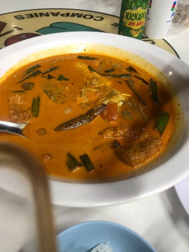 Curry Fish head At Hong Kong Street