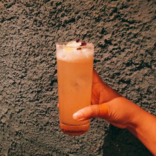 Gin Base Refreshing Summer Drink