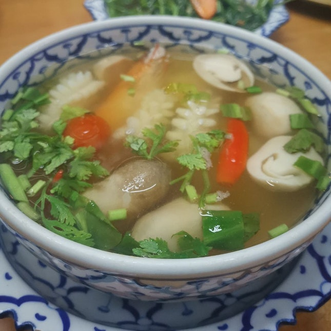 Clear Tom Yam Soup