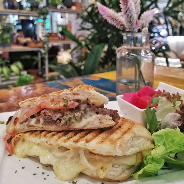 Beef Bulgogi Panini