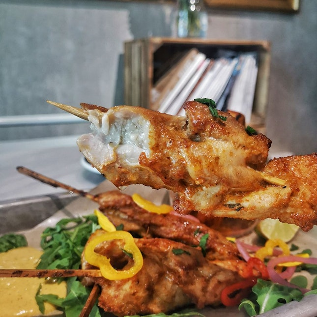 Peruvian Chicken skewers