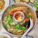 Clear Tom Yum Soup Small