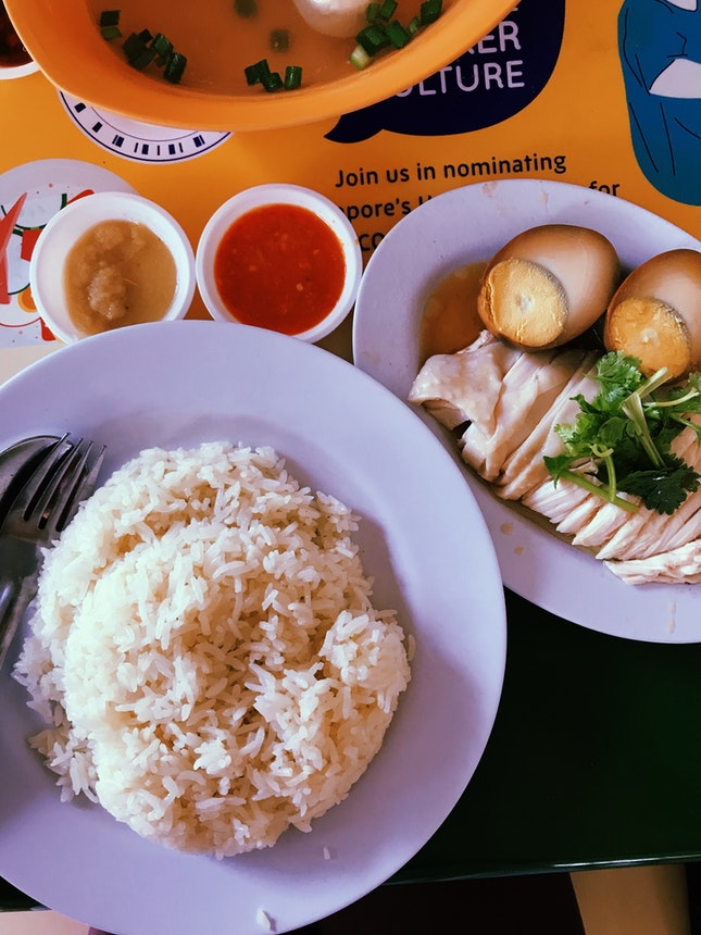 Excellent Chicken Rice