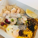 Prawn Donburi w Corn