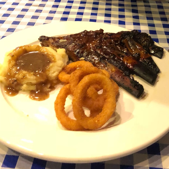 Honey Rum Ribs $25 Per Person