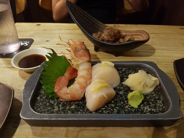 Fresh Sashimi And Amazing Mentaiko Dishes